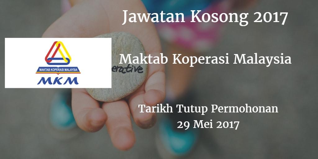Jawatan Kosong MKM 29 Mei 2017