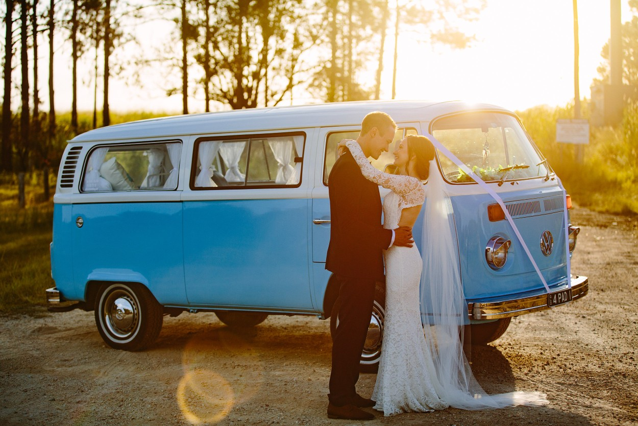 VW HIRE WEDDING TRANSPORT BRISBANE BYRON BAY