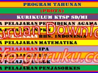 Download Program Tahunan (Prota) Untuk SD/MI