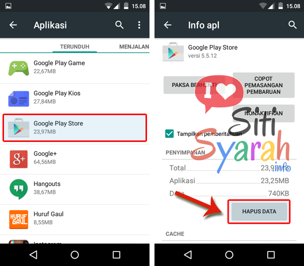 cara mengatasi error download 403 playstore