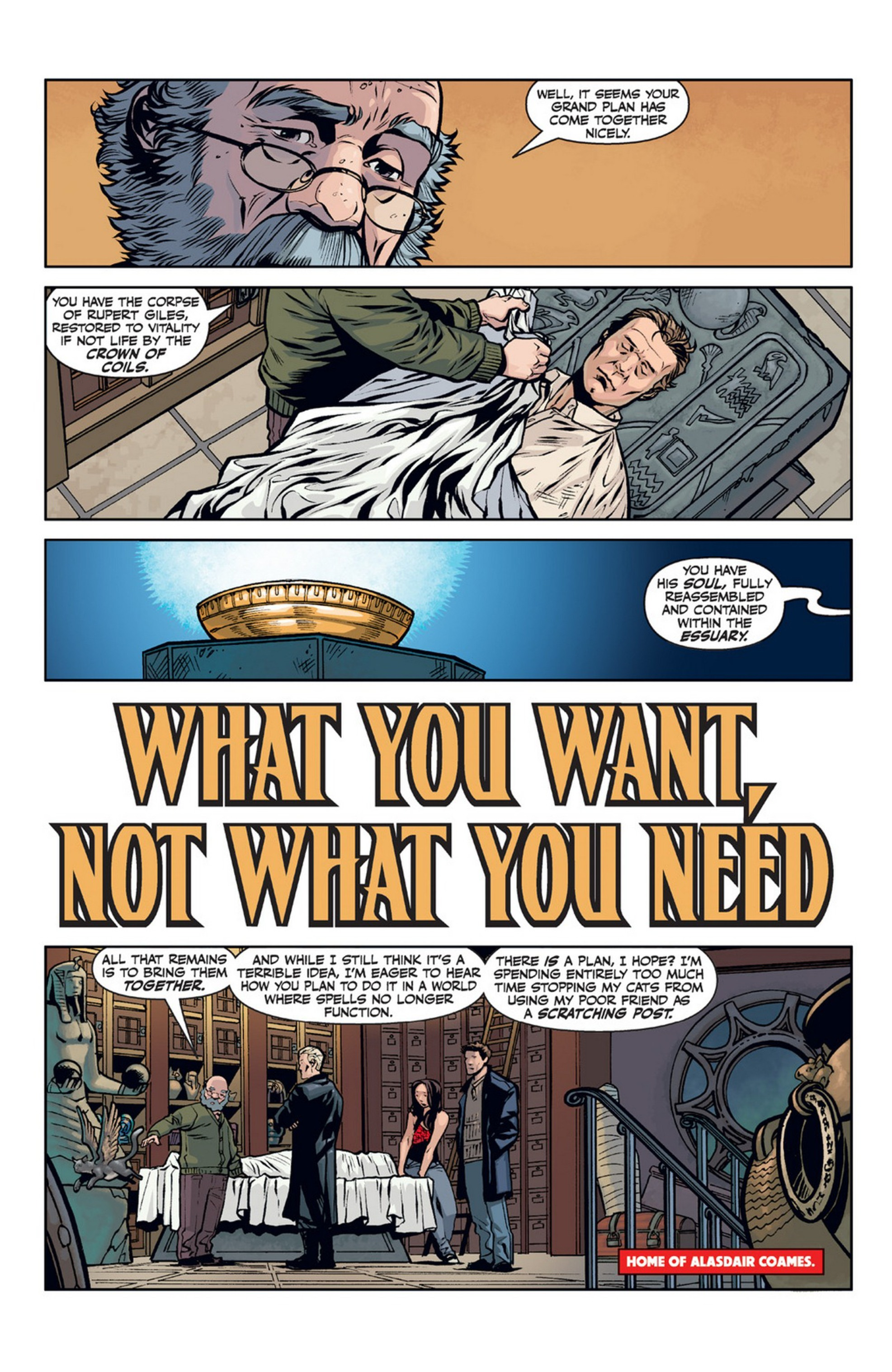Read online Angel and Faith comic -  Issue #21 - 4
