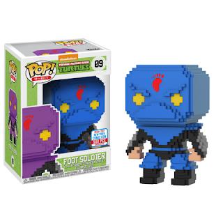 Pop! 8-Bit: TMNT – Blue Foot Soldier (500pc LE).