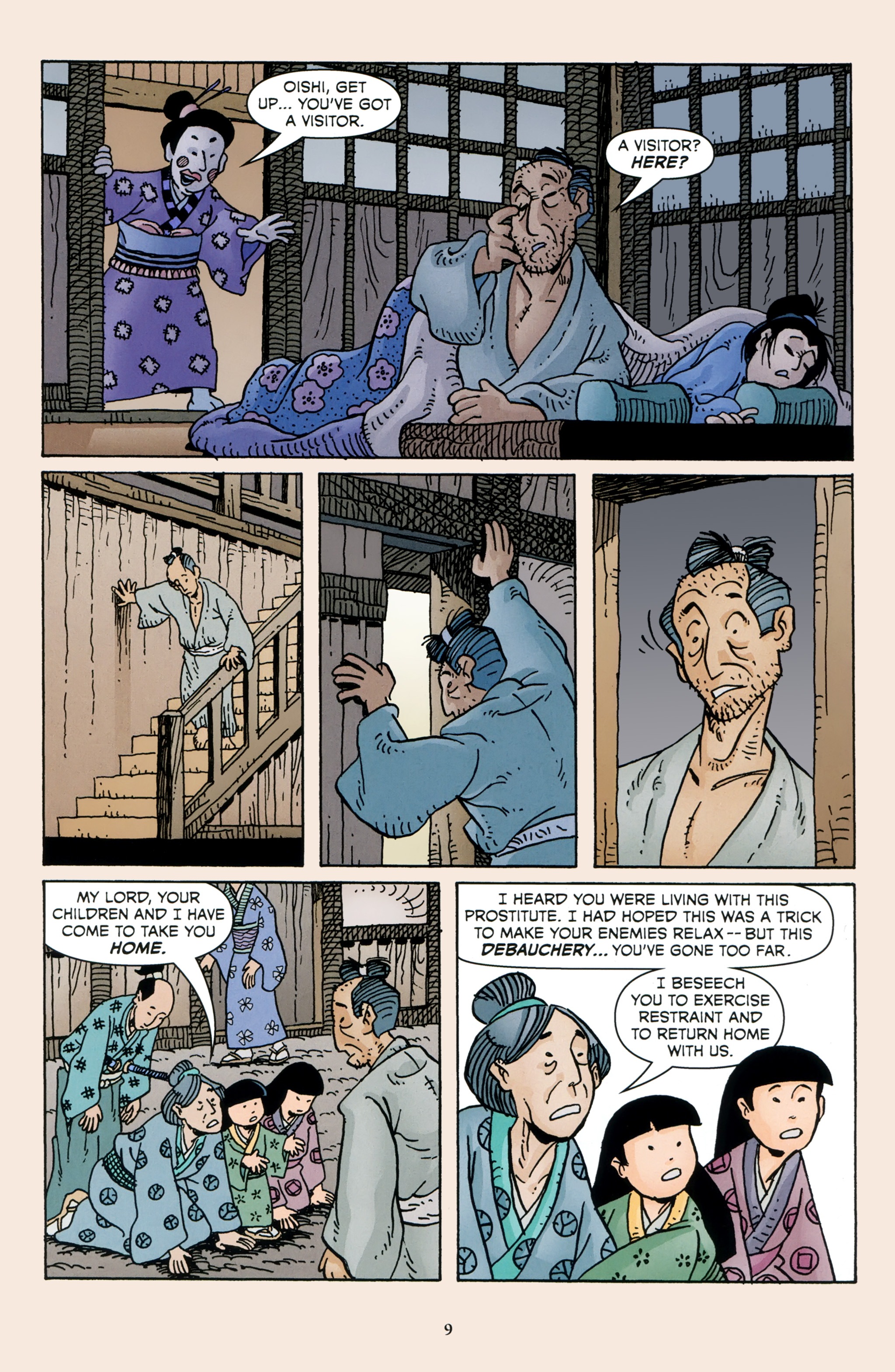 Read online 47 Ronin comic -  Issue #4 - 11