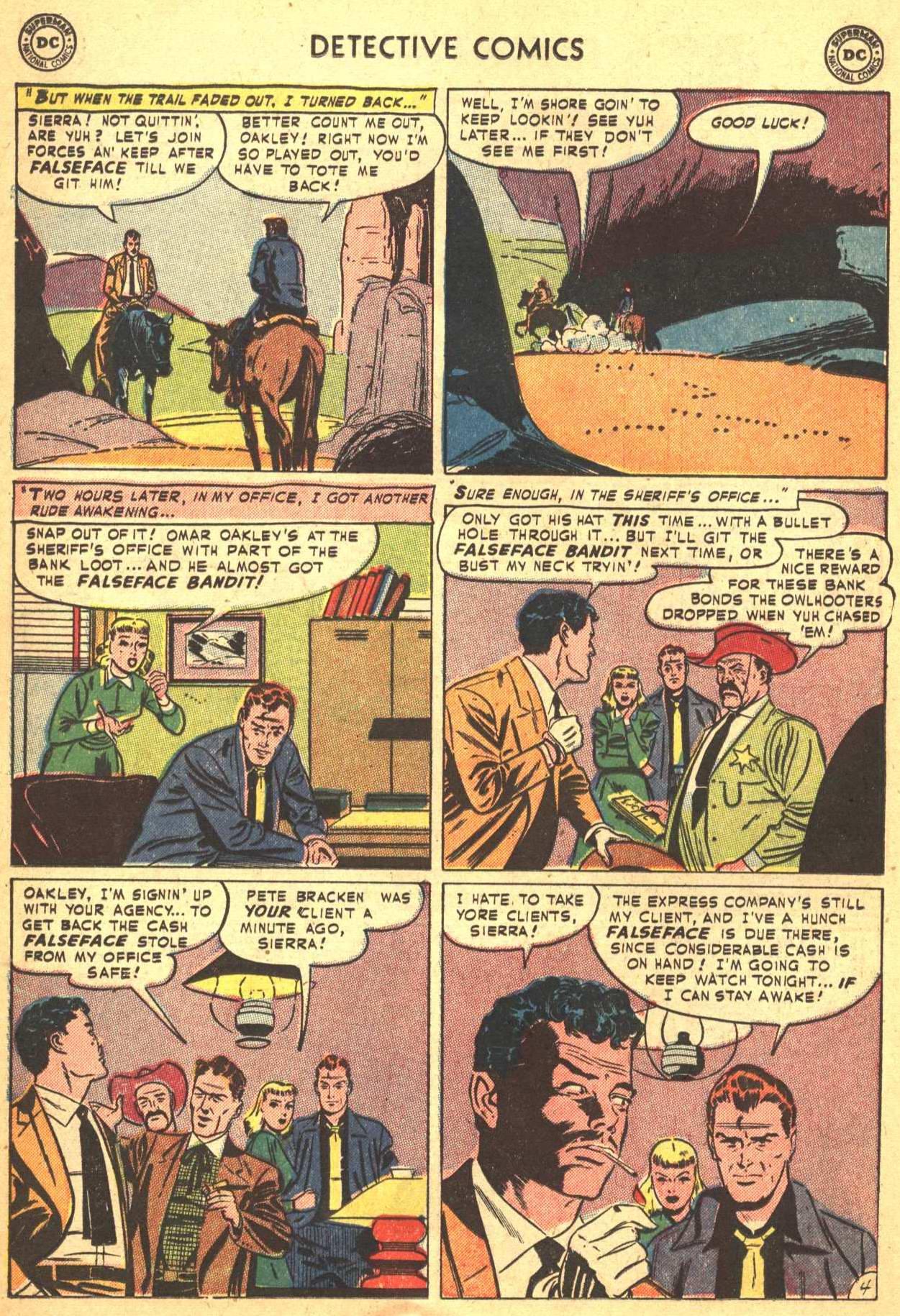 Read online Detective Comics (1937) comic -  Issue #206 - 17