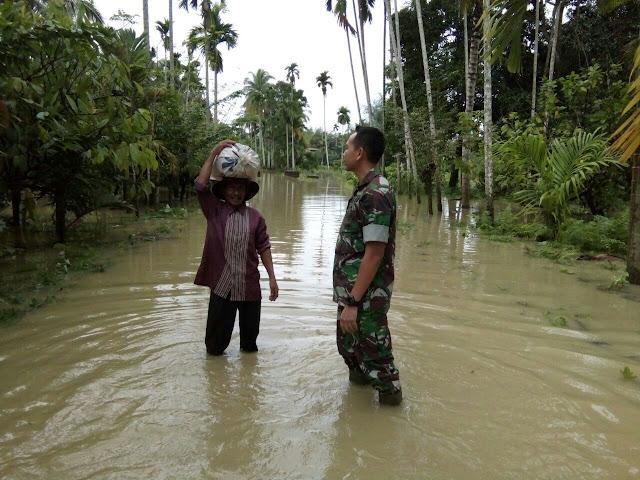 Matang Kuli Aceh Utara Banjir
