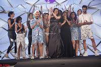 Manjari Phadnis, Meenakshi Dixit, Dipannita Sharma At Designer Nidhi Munim Summer Collection Fashion Week 18th March 2017 (4).JPG