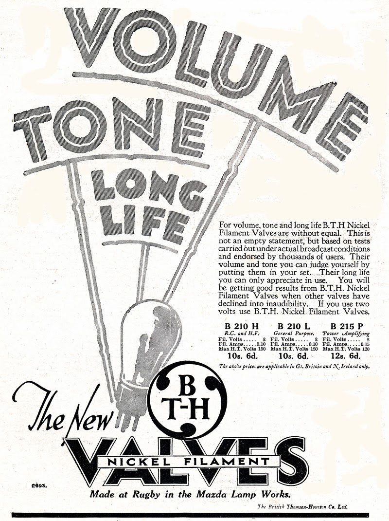 A nice collection of bth valves adverts