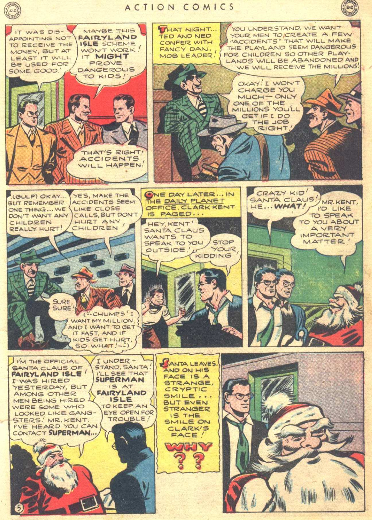 Read online Action Comics (1938) comic -  Issue #81 - 7