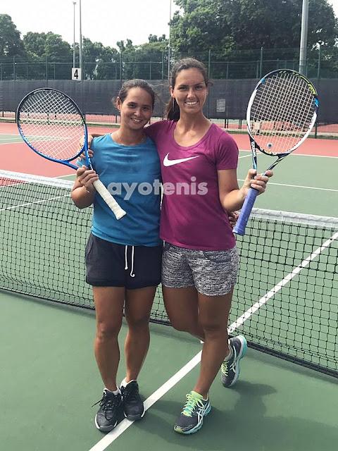 Beatrice Gumulya/Ana Veselinovic Kandas di Babak Pertama Singapore ITF Women's 25k Circuit 1
