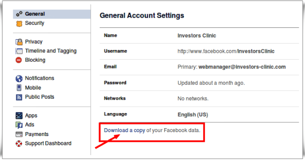 How do i delete my facebook account arkanpost ccuart