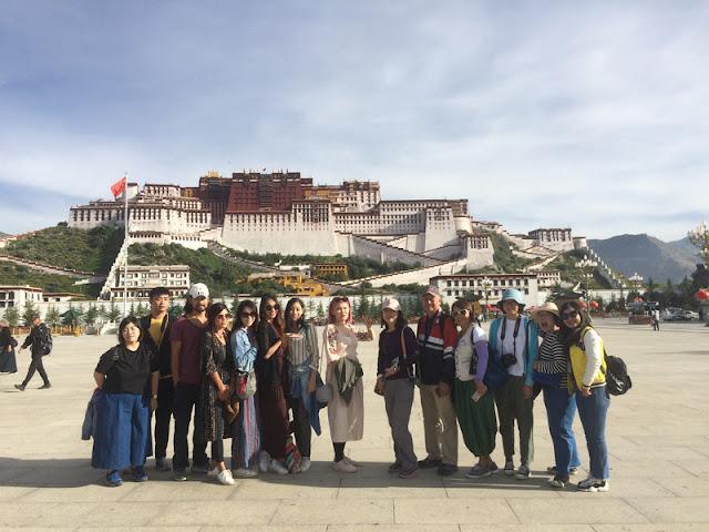 西藏景點-布達拉宮