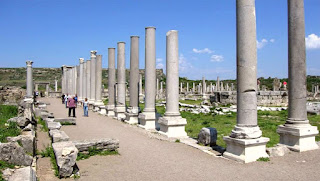 Peninggalan Kuno Perga Di Antalya Turki