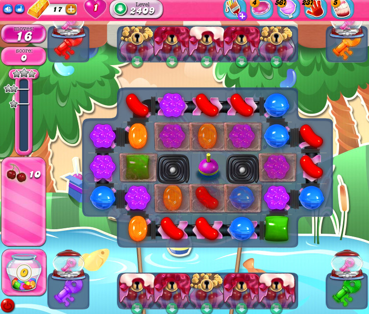 Candy Crush Saga level 2409
