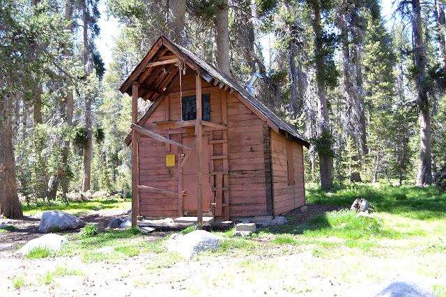 tall snow survey cabin