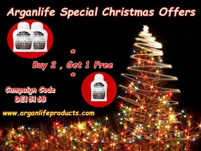 Arganlife Christmas Campaign