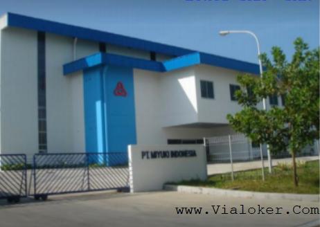 Lowongan Kerja VIA POS PT.Miyuki Indoensia Kawasan Industri KIIC Karawang