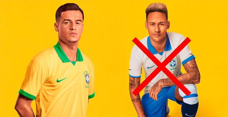 Brazil 2020 World Cup.New Logo Nike Brazil 2020 Home Away Kits Info Leaked
