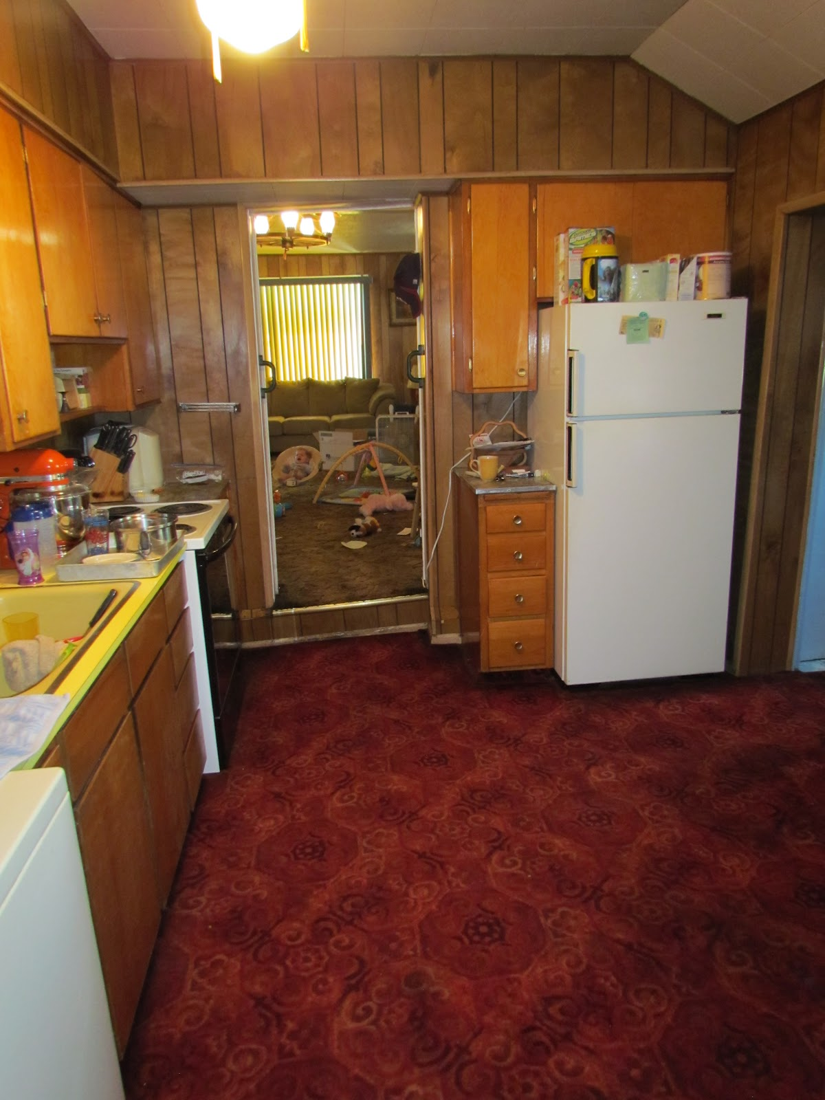 Carpet Kitchen Think Home Maid Simple