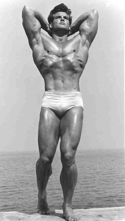 FITNESS&MUSCLE: STEVE REEVES - ATOR E FISICULTURISTA