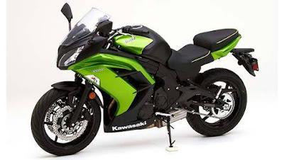 2017 Kawasaki Ninja 650 ABS super sport bike