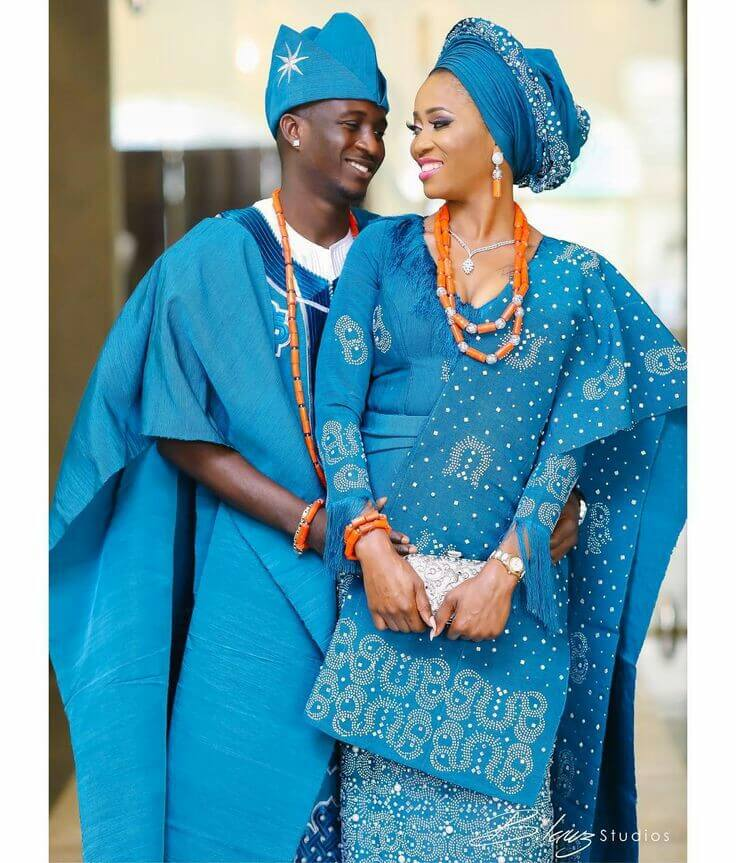 Nigerian Traditional Yoruba Wedding: 23 Latest Traditional Yoruba Wedding Attire For African