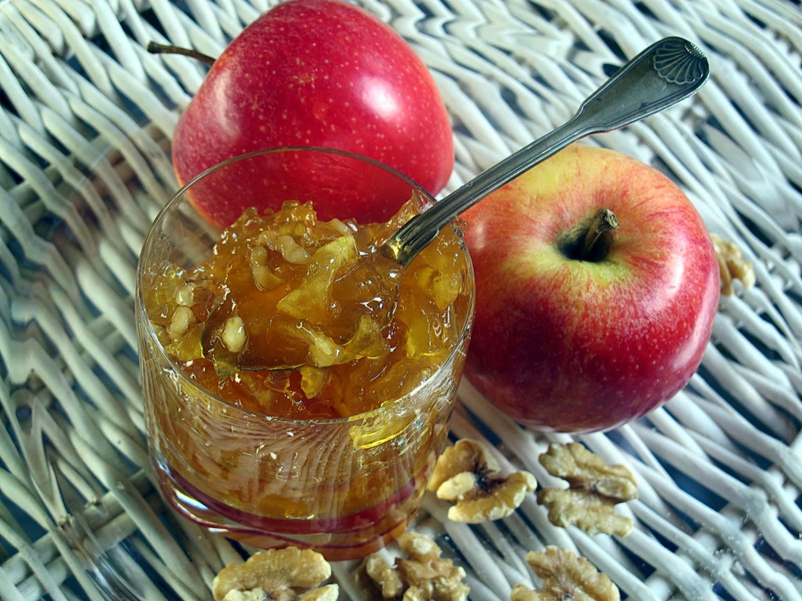 Amato Tentazioni di gusto: Confettura di mele caramellate alle noci di  QD87