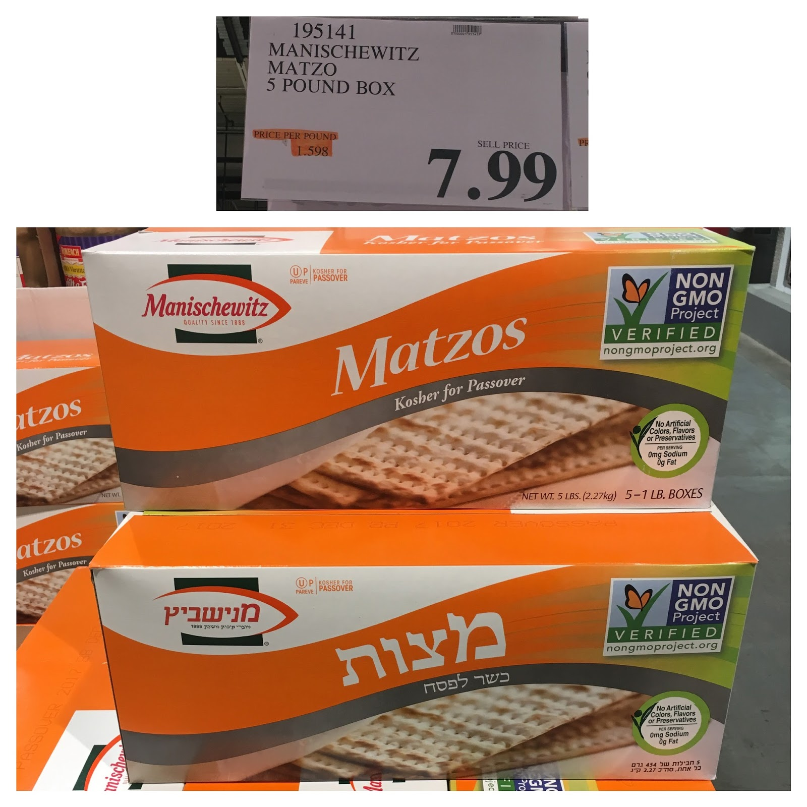 the Costco Connoisseur: Kosher and Kosher for Passover at