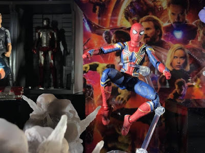 S.H.Figuarts Spider-man de Avengers Infinity War