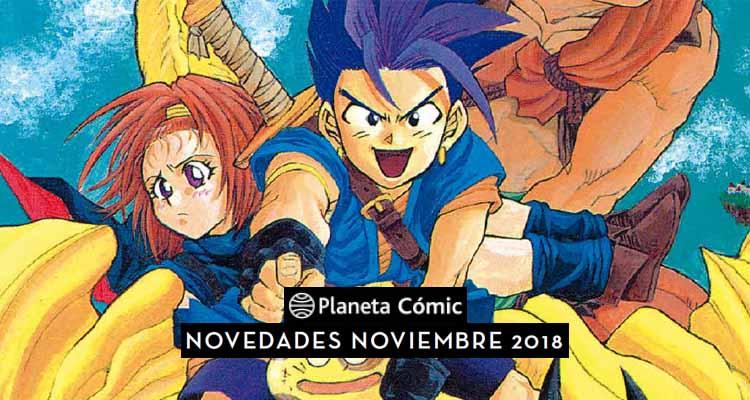 Planeta Cómic: Novedades para Noviembre de 2018