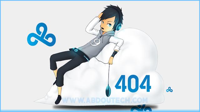 [ شرح مفصل ] عمل صفحة الخطأ (error 404 not found) في موقعك + صفحة جاهزه  متحركة هدية