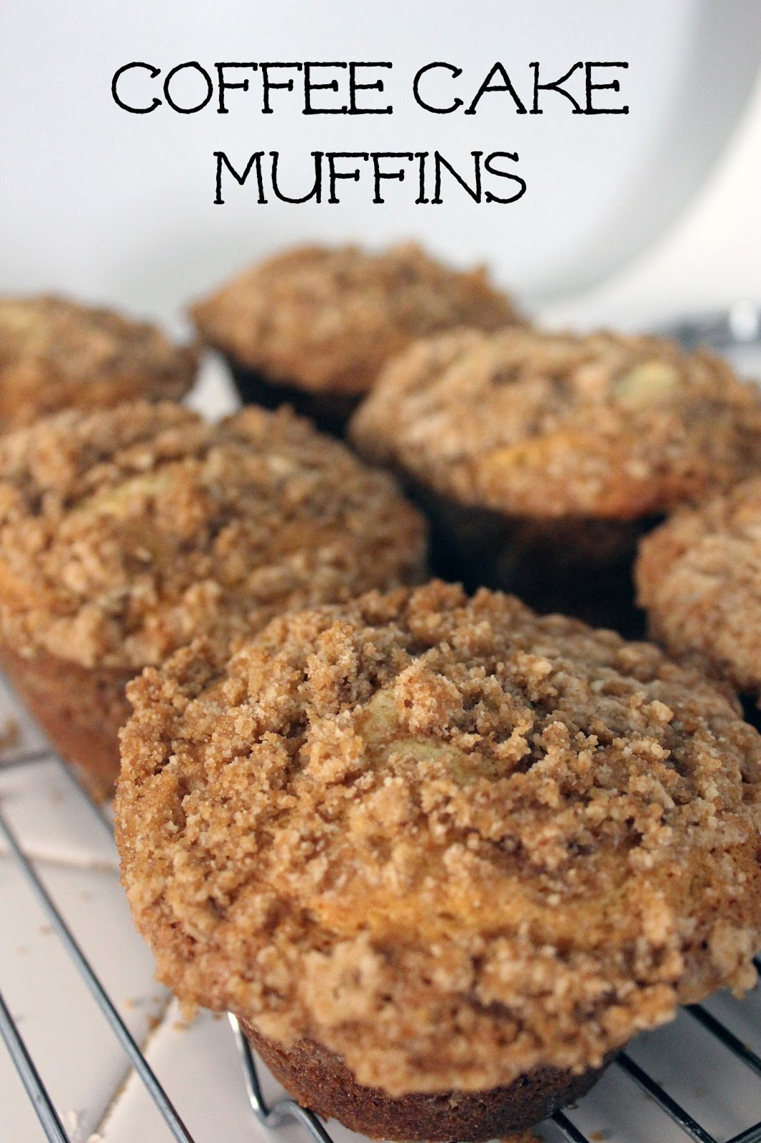 Coffee Cake Muffins by freshfromthe.com