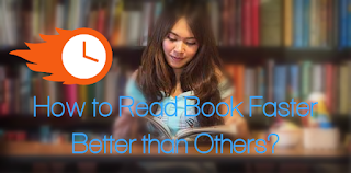 Reading book faster