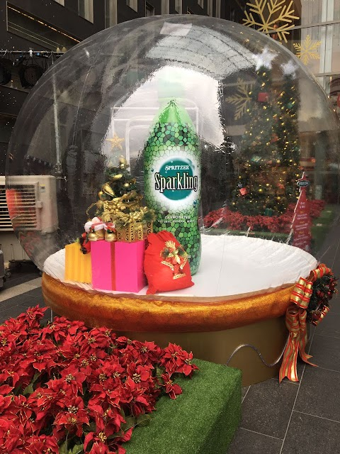 FULFILL YOUR X-MAS WISH WITH SPRITZER SPARKLING!