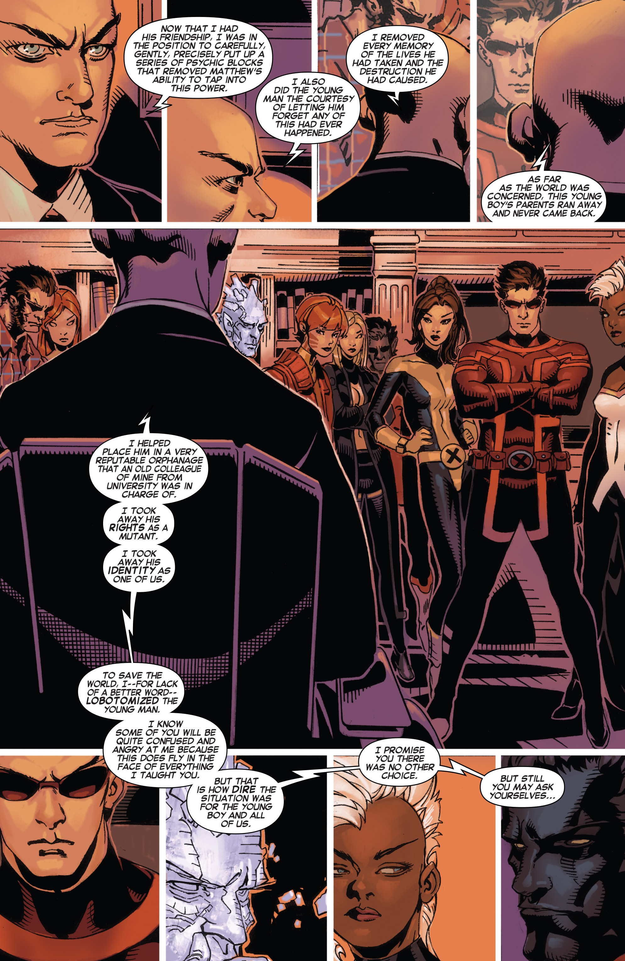 Read online Uncanny X-Men (2013) comic -  Issue # _TPB 4 - vs. S.H.I.E.L.D - 133
