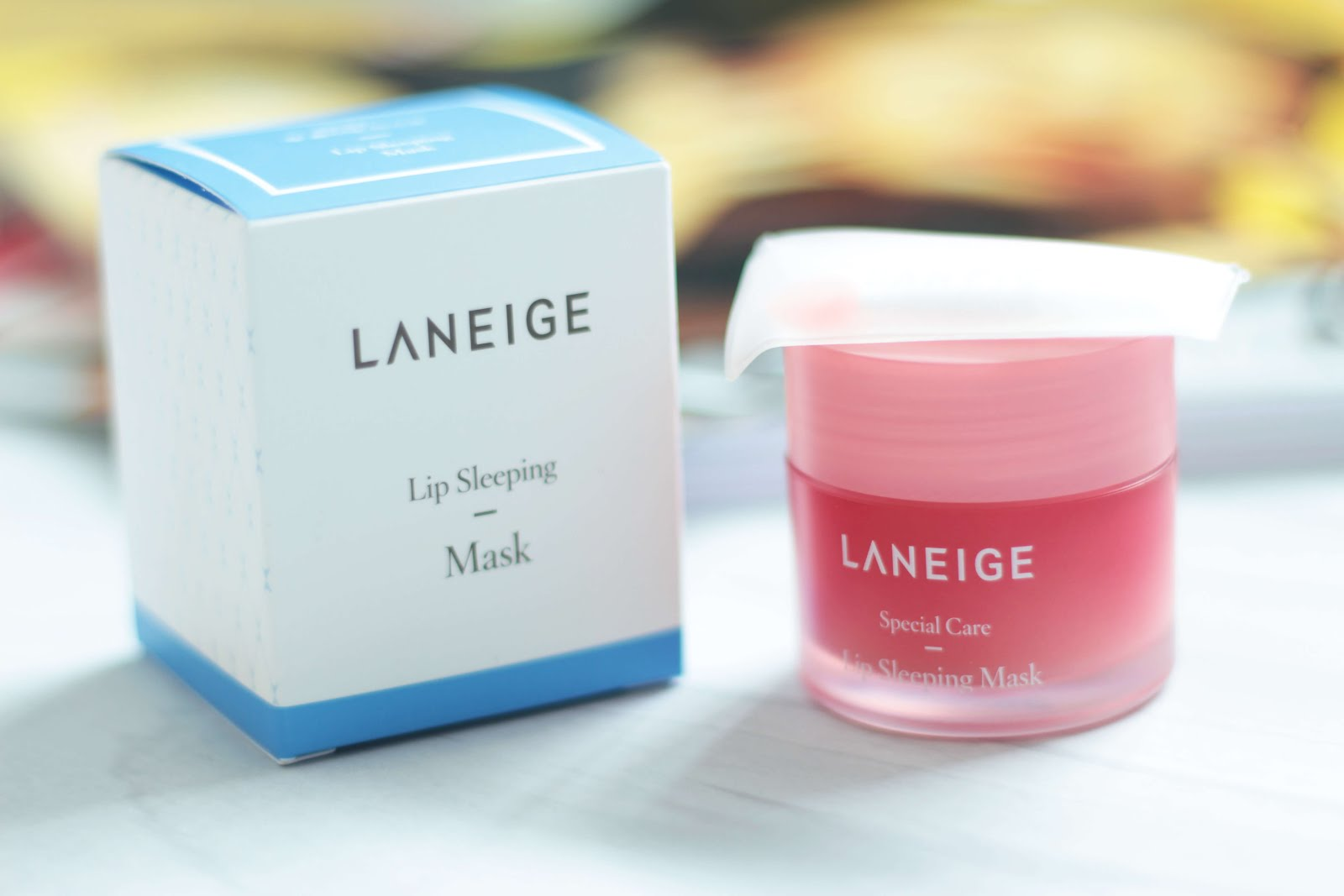 laneige lip care sleeping mask review