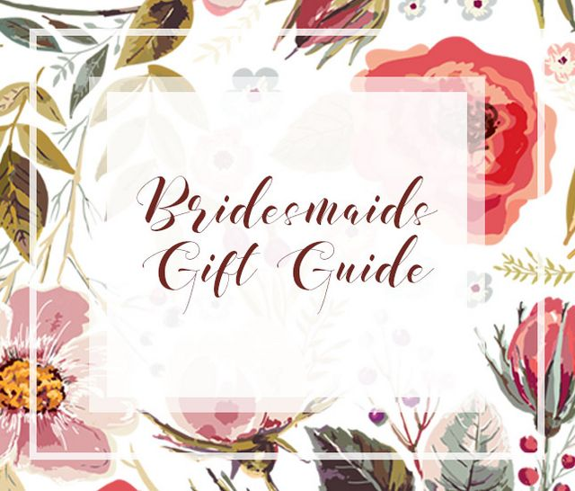 monogram gift guide for bridesmaids