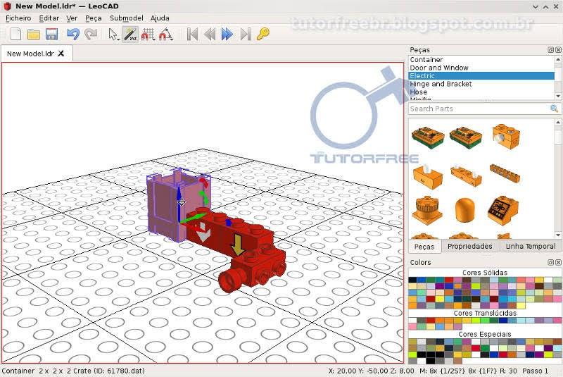 LeoCAD - Crie modelos virtuais com blocos LEGO - TutorFree