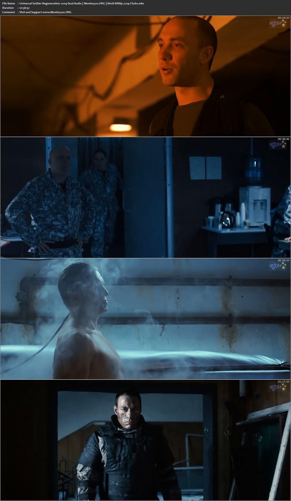 Universal Soldier: Regeneration 2009 Hindi 300MB BluRay 480p at movies500.site