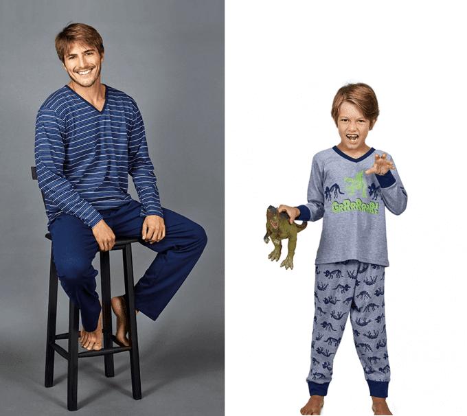 Pijama Masculini Listras (1)