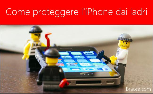 Come proteggere l'iPhone X dai ladri