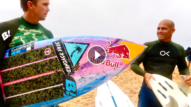 SURFING WITH KELLY SLATER JOHN JOHN FLORENCE