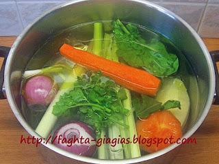 Ζωμός λαχανικών - από «Τα φαγητά της γιαγιάς»