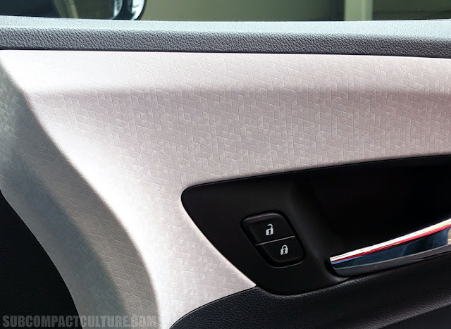 2017 Chevrolet Bolt LT door panel - Subcompact Culture