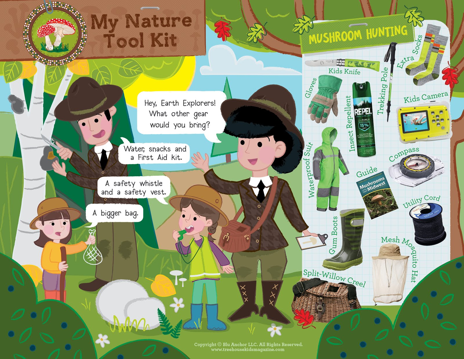 Treehouse Magazine The Magical And Mysterious Mushroom