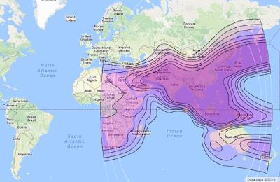 Satelit Measat 3a 91.5°E CBand