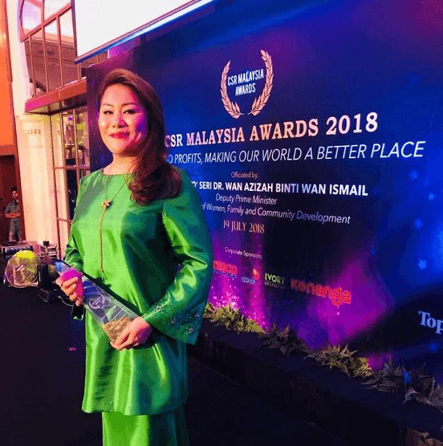 Dato' Kamisah Johan, Rembawang Group, CSR Malaysia Award 2018,