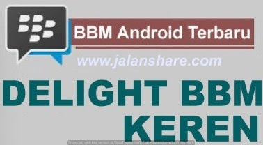 BBM Mod Delight Apk Terbaru For Android