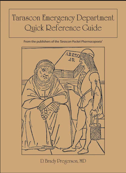 Tarascon Emergency Department Quick Reference Guide [PDF]