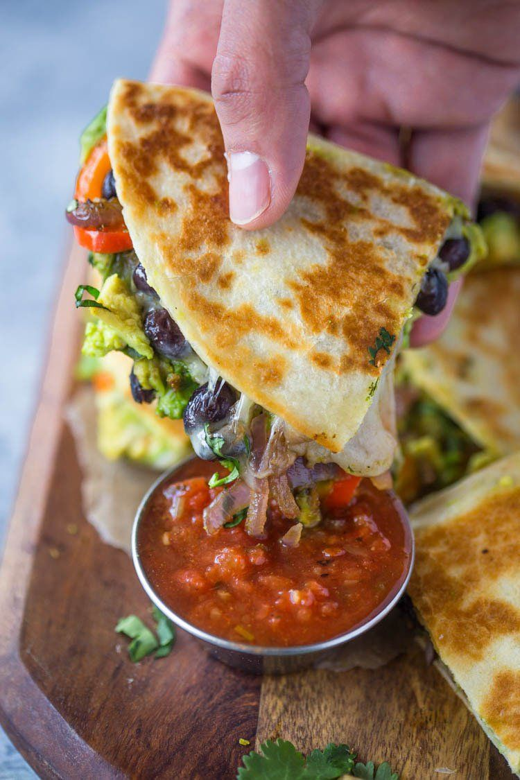 Quesadillas #dinner #food