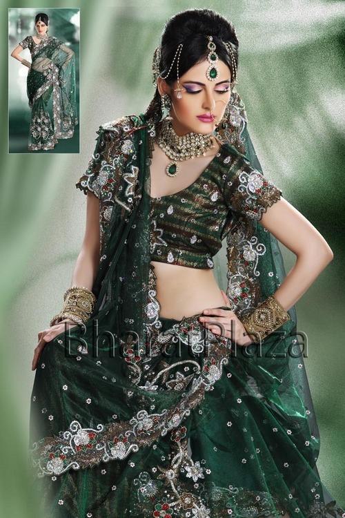 saree dress fashion trend 2012 zakrecona milka
